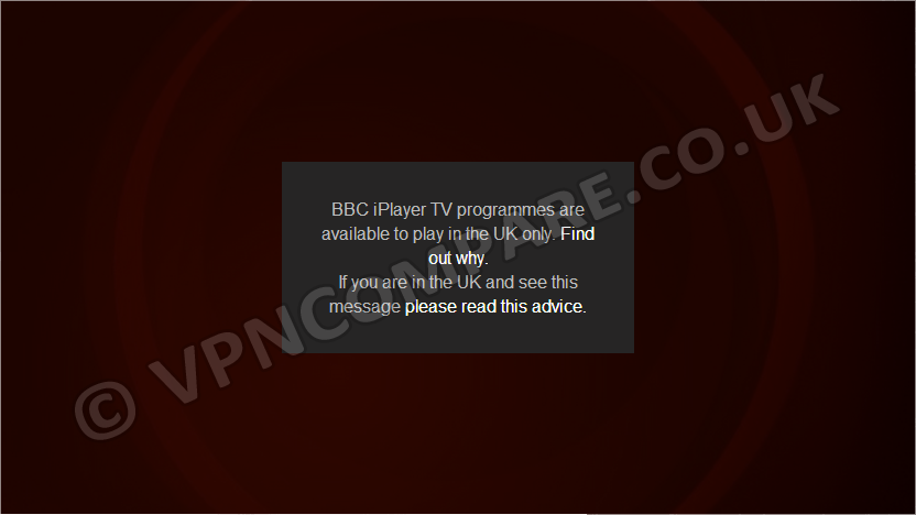 iPlayer Blocked June 2014