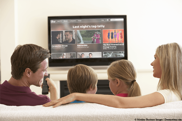 Family watch ITV Player
