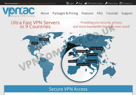 VPN.ac Website