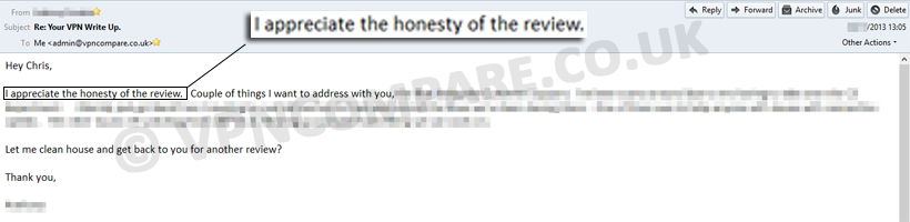 Honest review policy
