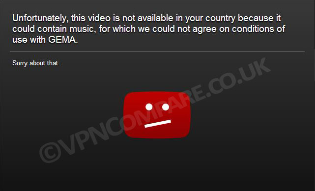 YouTube Blocked Video