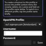 OpenVPN Connect Login