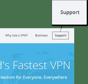 VyprVPN Website