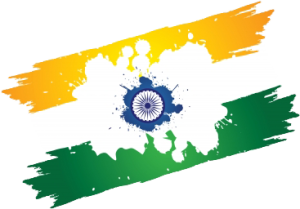 Indian Splash Flag