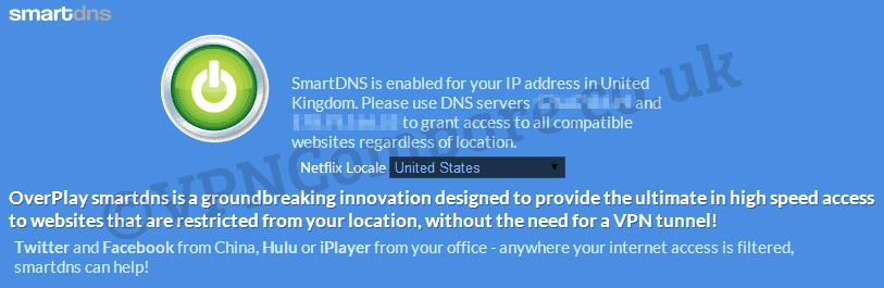 SmartDNS Website