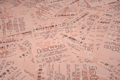 UK National Lottery tickets