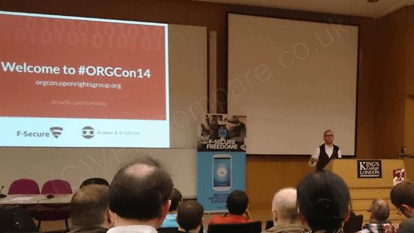 Cory Doctorow 2 ORGCon14