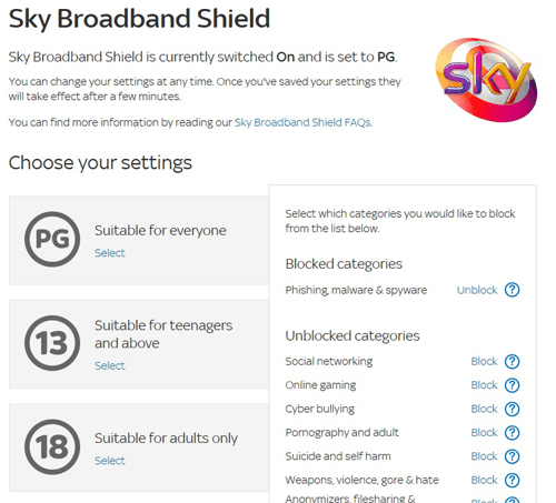 Sky Broadband Shield