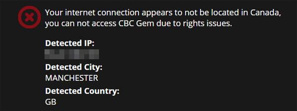 CBC Blocked
