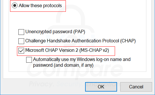 Windows 10 VPN Step 8