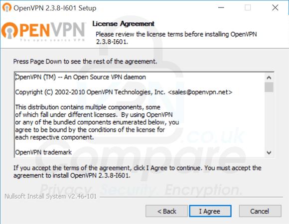 Windows 10 OpenVPN license