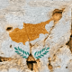 Cyprus Grunge Flag