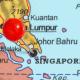 Singapore Pin Map