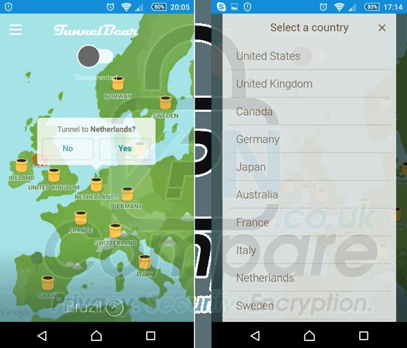TunnelBeat Android App