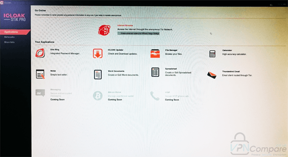 ICloak Desktop