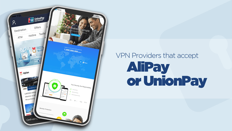 AliPay and UnionPay on phones