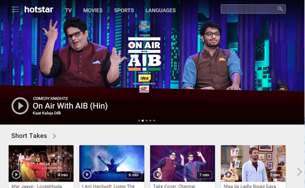 Watch Hotstar In The UK