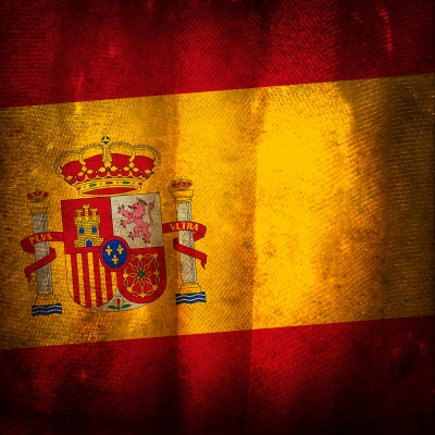 Spanish Grunge Flag