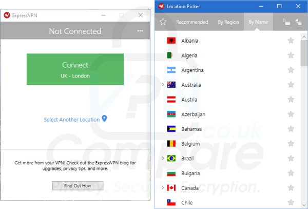ExpressVPN Windows 2016