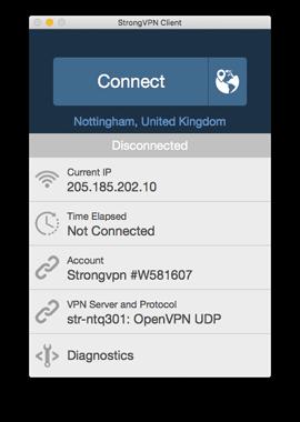 StrongVPN Mac VPN Client