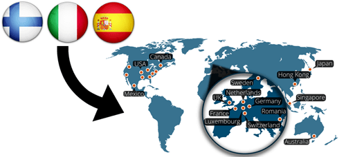 VPN.ac Map