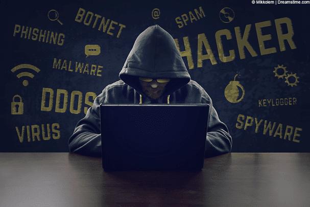 DDOS attack hacker