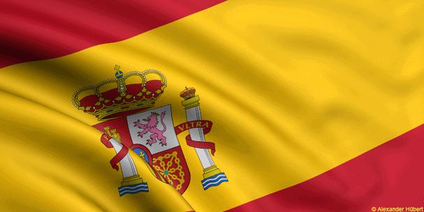 Spanish large flag