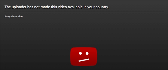 BT Sport Youtube Blocked