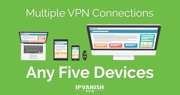 IPVanish Multiple Connections