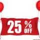 25 Discount Balloon