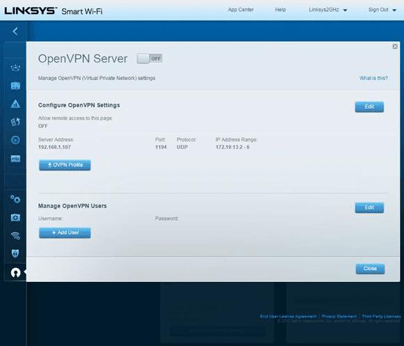Linksys VPN