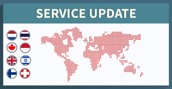 NordVPN new servers