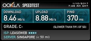 Singapore VPN Server