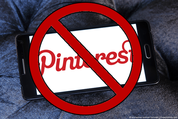 Pinterest Blocked China