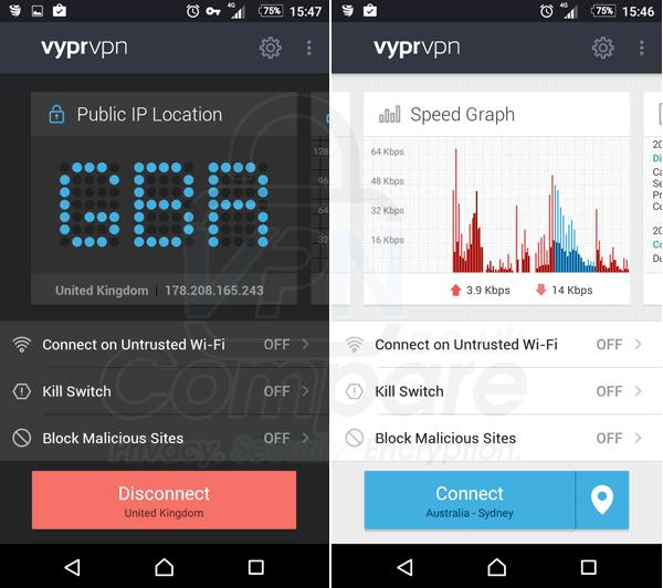 VyprVPN Android 2017