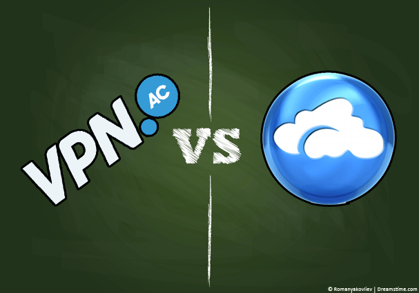 VPN.ac vs AirVPN