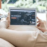 Woman uses VPN to watch American Netflix