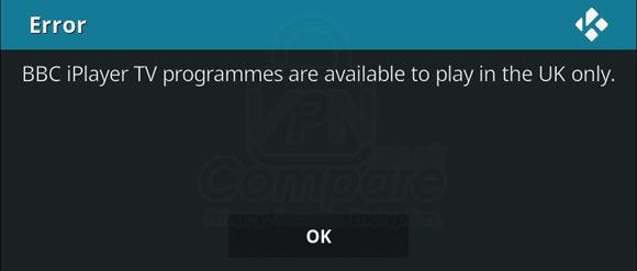 Kodi iPlayer Blocked