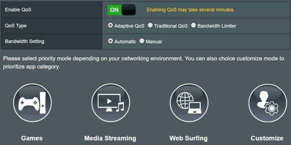 Router QoS