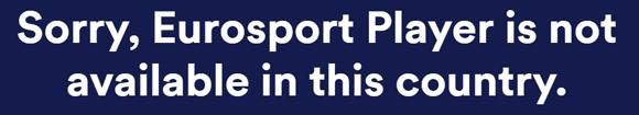 Eurosport Player Blocked