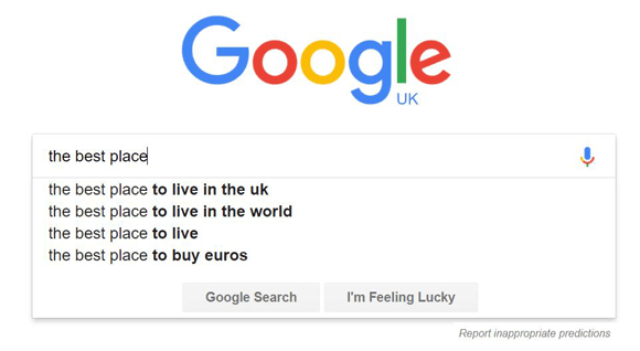 Google UK Search