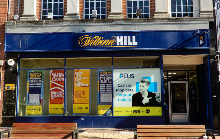 William Hill shop front