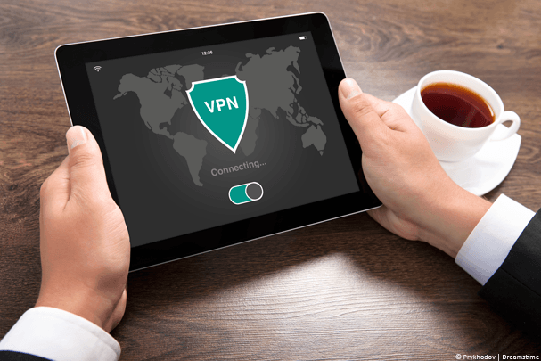 VPN on a tablet