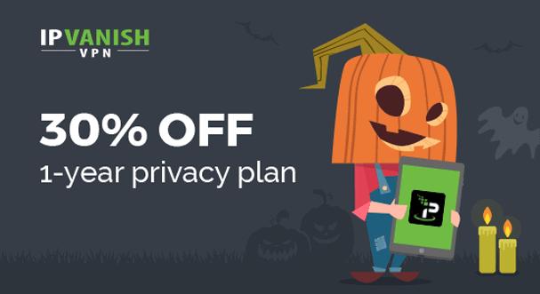 IPVanish Discount Halloween