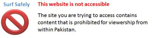 Pakistan censorship
