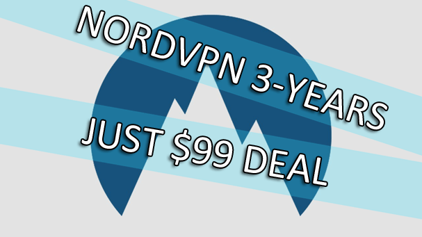 NordVPN 3 year $99