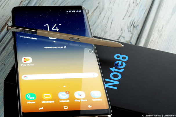 Samsung Galaxy Note 8 VPN