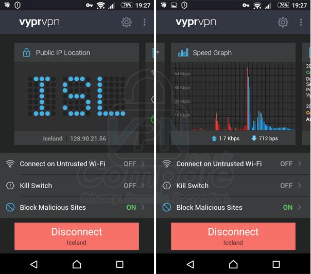 VyprVPN Android Jan 18