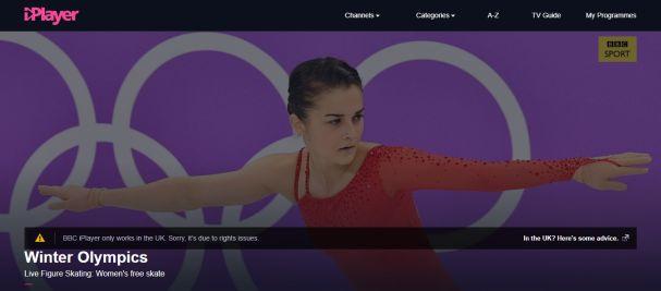 BBC Error message