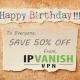 Happy Birthday IPVanish